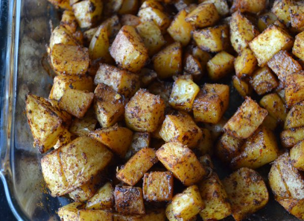 Taco seasoned potatoes