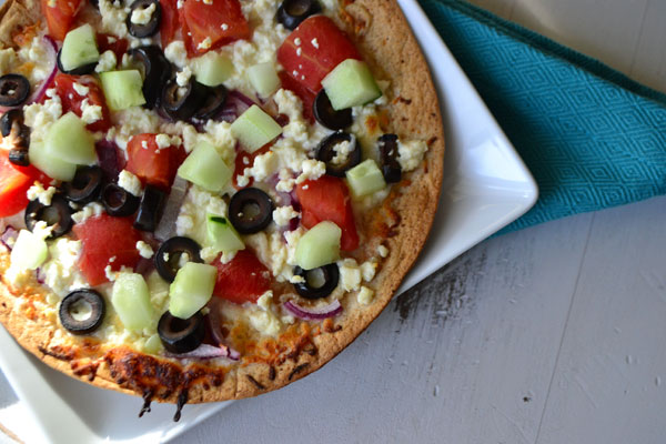 Greek Pantry Pizza
